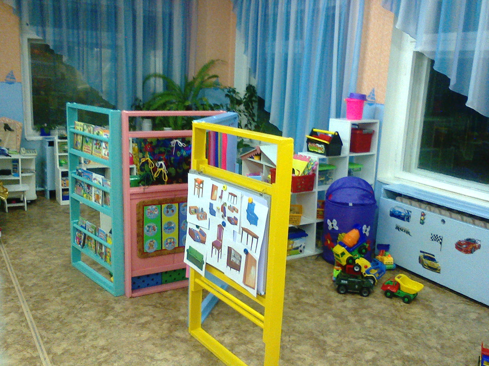 Детская ширма в детский сад